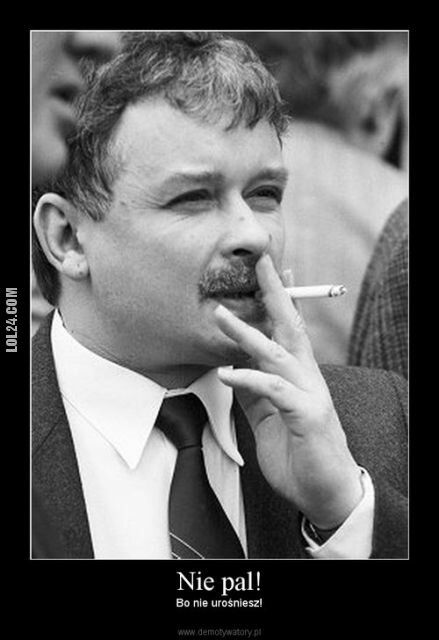 demotywator : Nie pal!