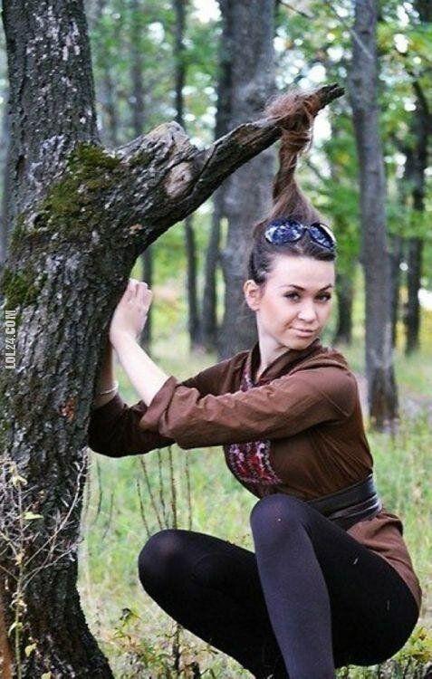 wpadka : Uważaj jak przy kucaniu w lesie