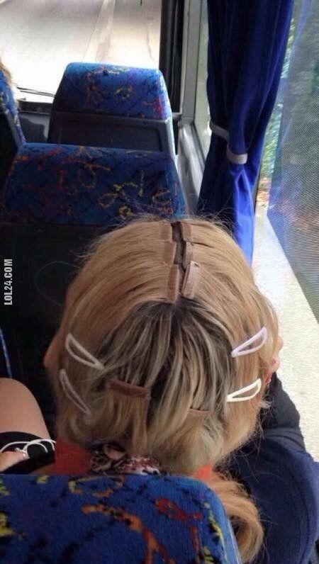 wpadka : Doczepiane włosy