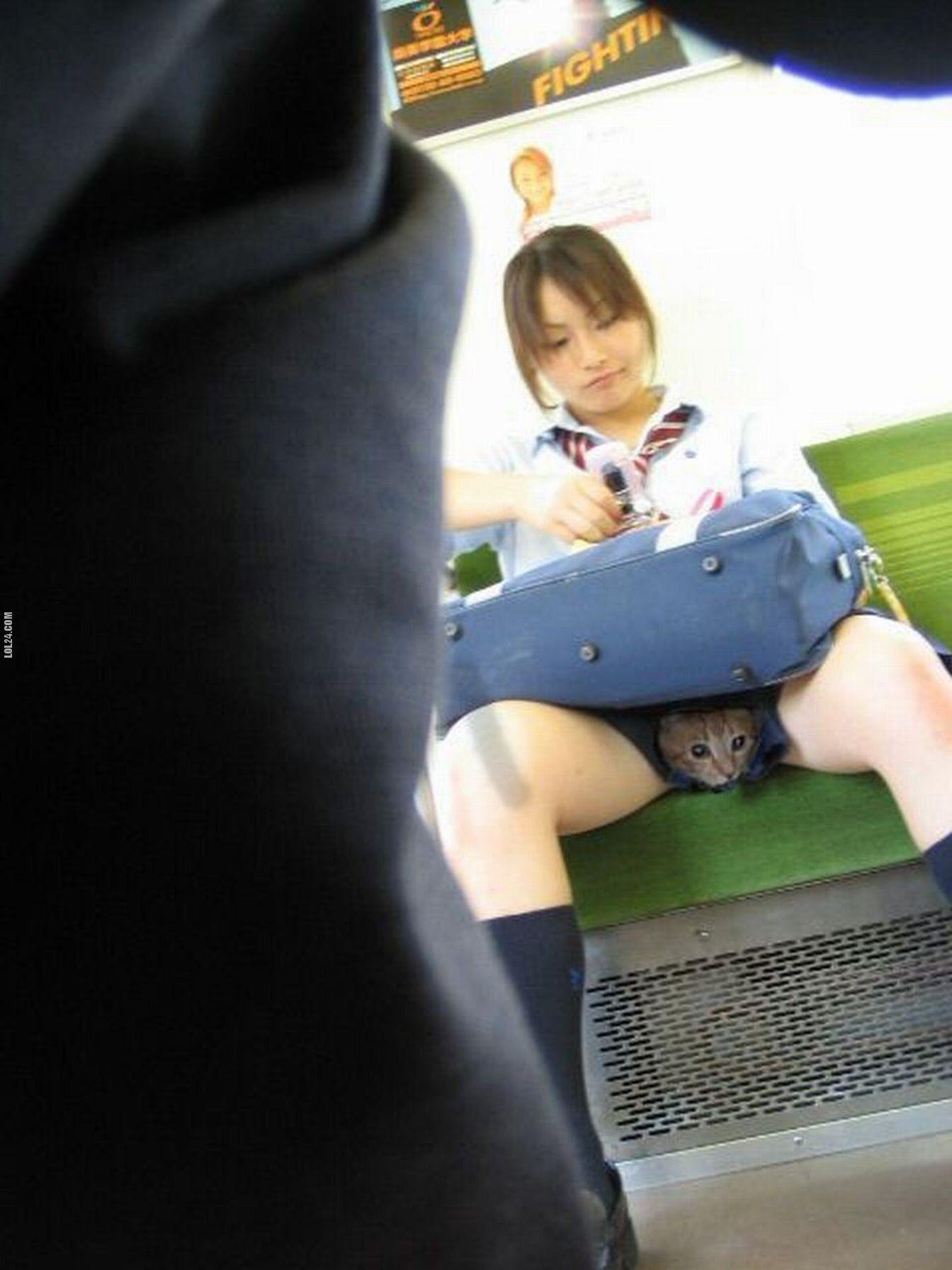 Трогает девушку в транспорте 29 фотография