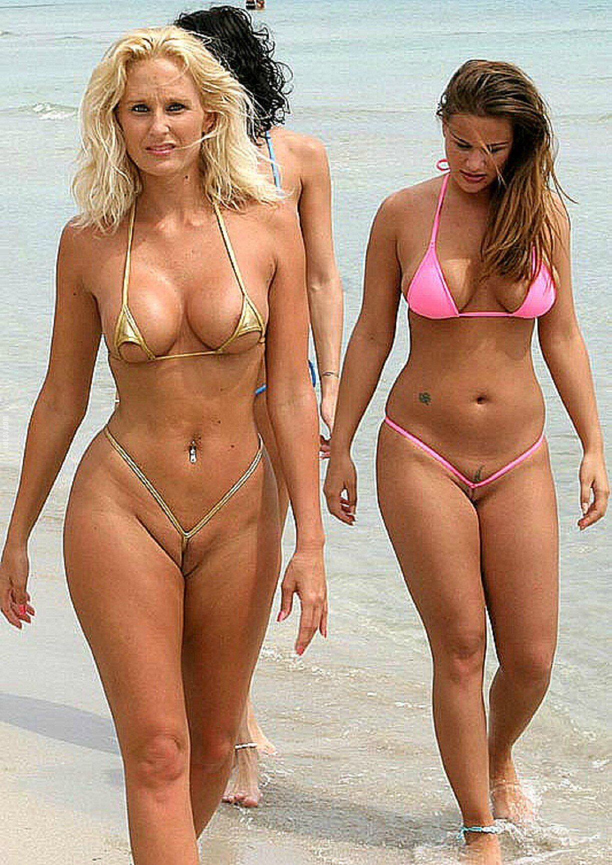 Фото пляж без бикини 16 фотография