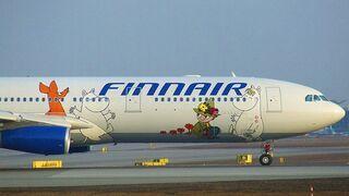 Finnair Airbus A340 - Muminki