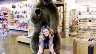Sweet fotka z niedźwiedziem