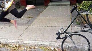 Na rowerze przez kierownice