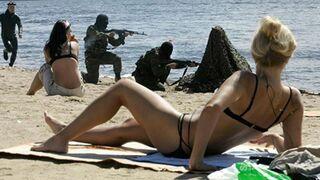 Tymczasem na plaży w Rosji