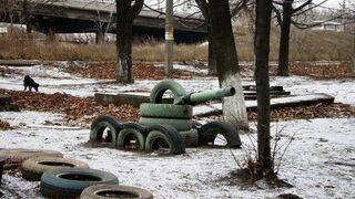 Nasz pierwszy czołg. Dzieciństwo!