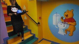 Kubuś Puchatek w rosyjskim przedszkolu