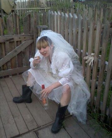 Panna młoda z Rosji