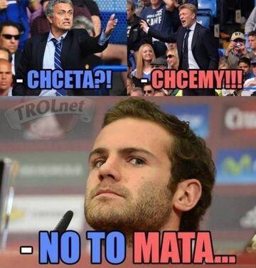Transfer z Chelsea do Manu
