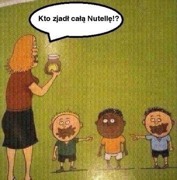 Kto zjadł całą Nutellę!?