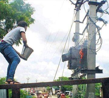 Gaszenie transformatora - Jak tego nie robić!