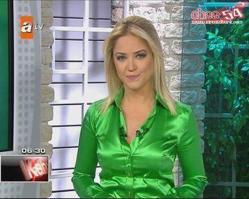 Piękny prezenterka