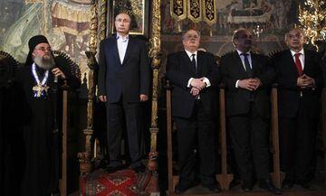 Prezydent Rosji w klasztorze