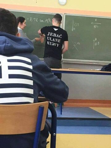"""Jebać ulane kurwy"""