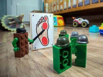 LEGO na końcowym etapie produkcji