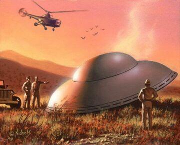 Polskie wojsko na tropie UFO