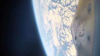Höhenforschungsrakete MAPHEUS 5: Video vom Start aus Sicht der onboard Kamera