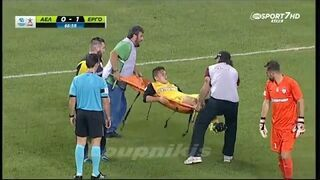 Fatalna interwencja sanitariuszy podczas meczu