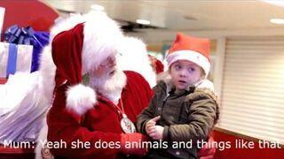 Wzruszający gest Świętego Mikołaja