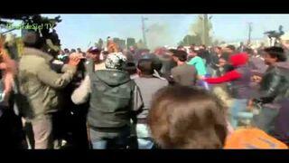 Syryjczyk podpalił się w proteście przeciwko zamykaniu granic