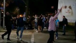 Rozbierające się dziewczyny, tańce. Biba tylko na ulicach Lublina!
