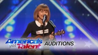 Nastolatka z ukulele i świetnym głosem - America's Got Talent 2016