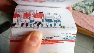 Niesamowita animacja poklatkowa