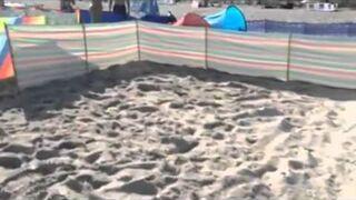 Jak Polak radzi sobie na plaży, czyli o parawanach słów kilka
