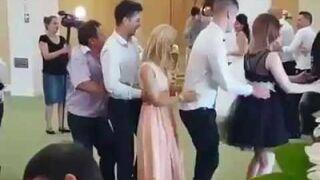 Taniec - ruchaniec na weselu