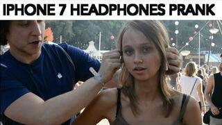 Reakcja na bezprzewodowe słuchawki do iPhone'a 7