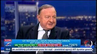Michalkiewicz opowiada wojskowy żart o Macierewiczu w programie na żywo!