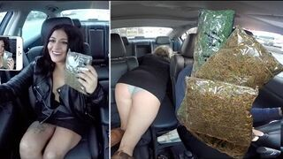 Sprzedawanie ogromne ilości marihuany podczas jazdy Uber | Prank