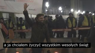 Protest pod Sejmem i relacja na WESOŁO