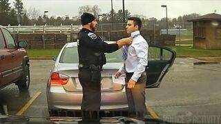 Takiej interwencji policji nie widziałeś nigdy!
