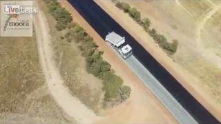 Jak w Australii buduje się drogi