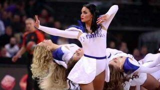 Seksowne cheerleaderki z Litwy
