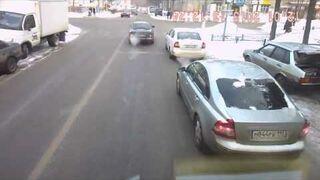 Kompilacja wypadków samochodowych No.4