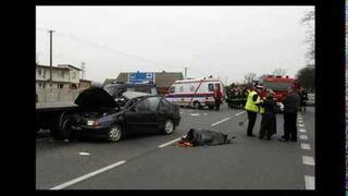 Tragiczny wypadek w centrum, dwie osoby nie żyją.