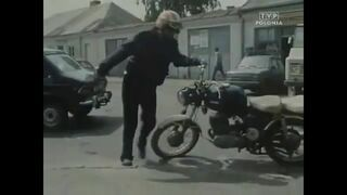 Epic motorcycle drive (polish easy rider)