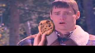 JIM CARREY WON'T EAT HIS COOKIE