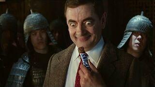 Jaś Fasola w reklamie Snickersa