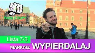 Mariusz Wypierd@laj. Jedyny, Prawdziwy Kandydat!