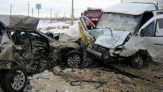 Accidents on the road - November 2014
