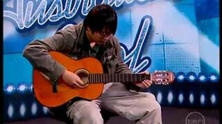 Australian idol - Guitar solo