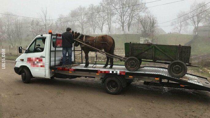 motoryzacyjna : Koń się zepsuł?