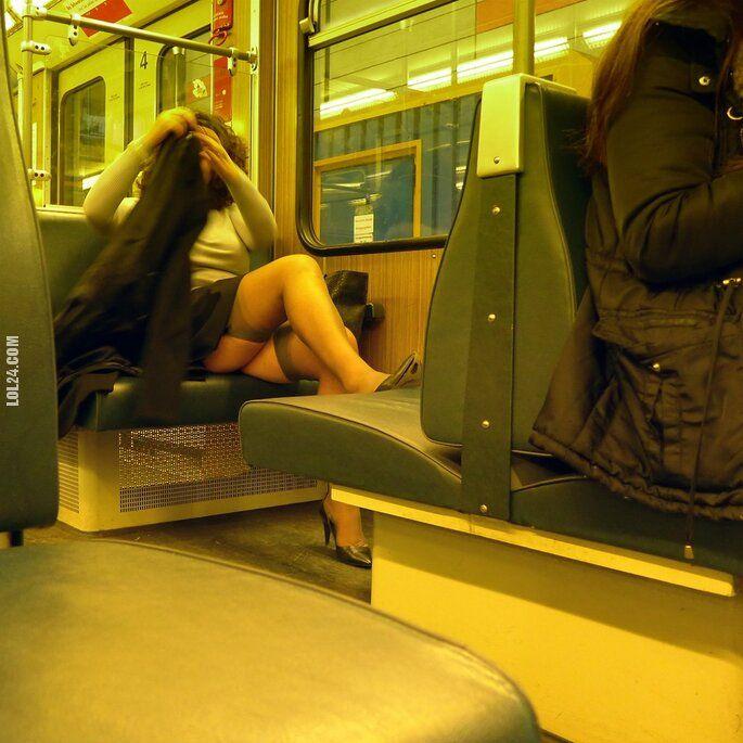 seksowna : Pani z pociągu