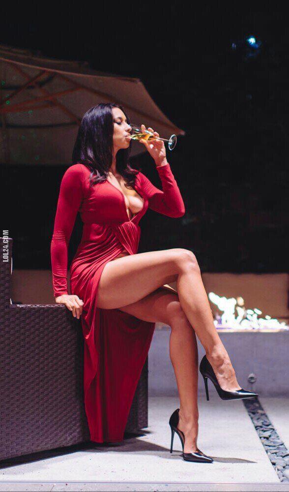 kobieta : Seksowna elegancja