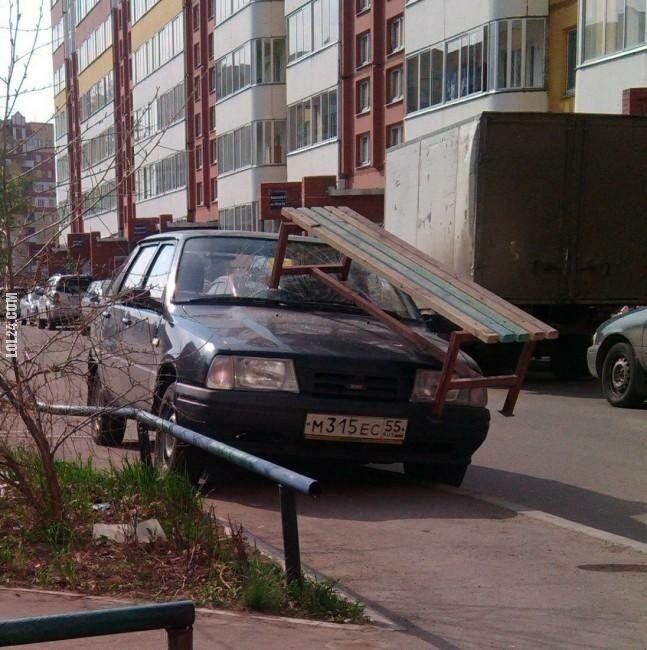 wpadka : Grzywna za niewłaściwe parkowanie