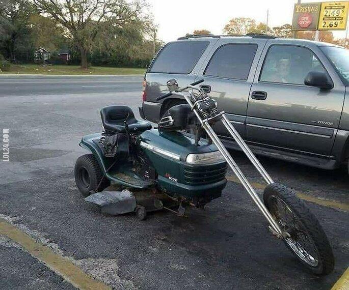 motoryzacyjna : Chopper kosiarka