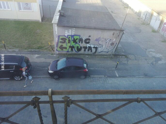 napis, reklama : Toaleta we Wrocławiu